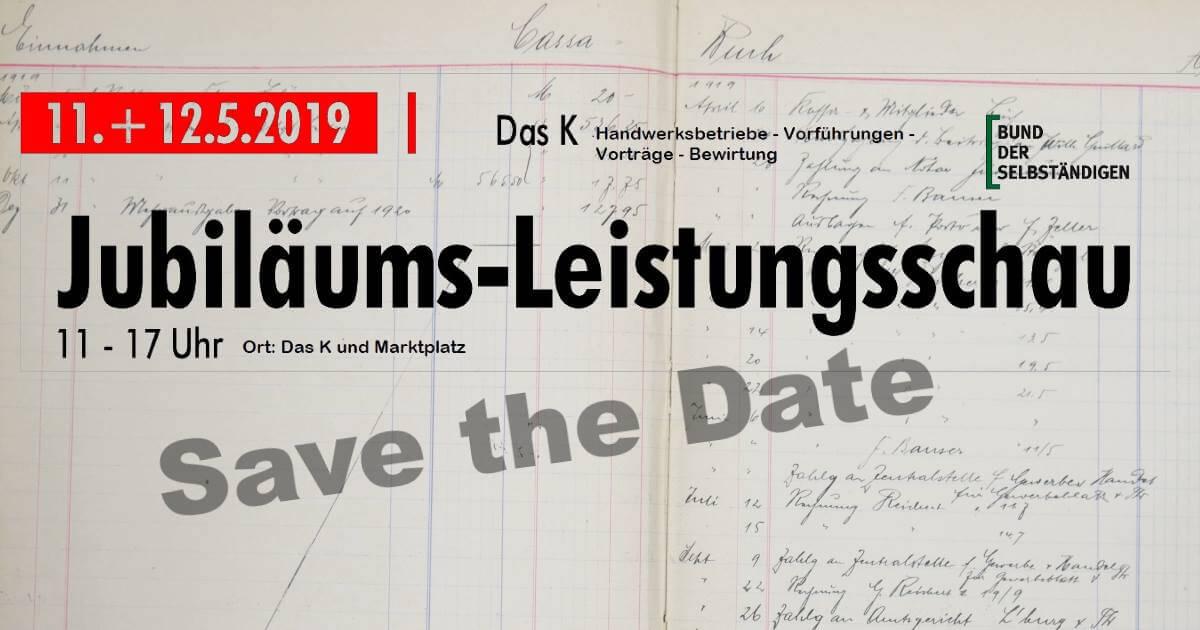 Jubiläums-Leistungsschau 2019 – 100 Jahre BdS