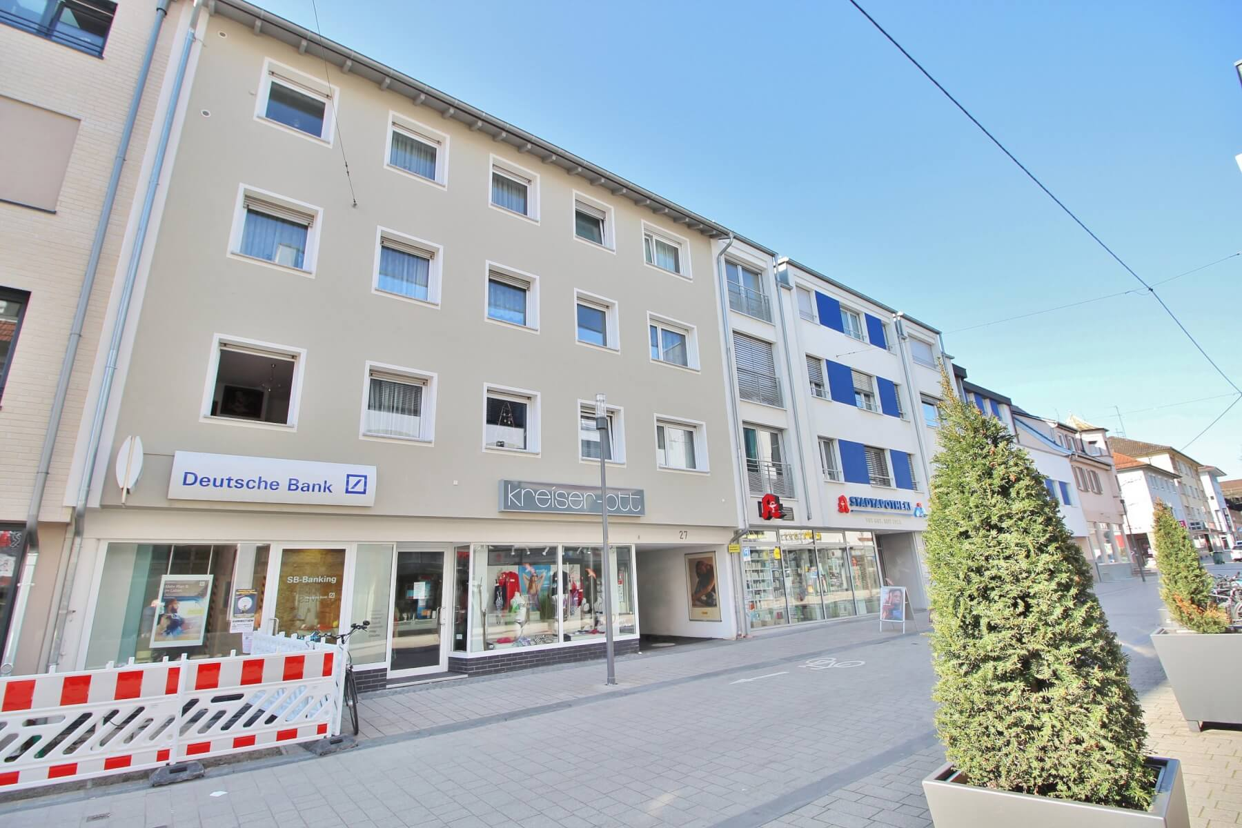 Wohn- und Geschäftshaus in Kornwestheim