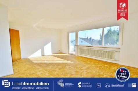Einziehen und Loswohnen – schöne kernsanierte Wohnoase freut sich auf seine neuen Bewohner!, 70806 Kornwestheim, Etagenwohnung